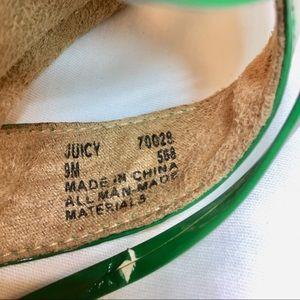794d34a975f Mudd Shoes - Mudd Juicy Platform Wedge Sandal Green size 9M